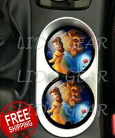 Beauty & the Beast Car Coasters Disney Car Coasters Disney Inspired