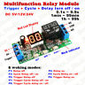 DC 12V 24V Digital LED Infinite Cycle Delay Timer Switch ON/OFF Relay Module