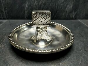 🌟Beautiful Victorian Silver Plated Ashtray 19th Century🌟