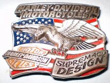 Harley-Davidson Belt Buckle Supremacy by Design by Baron ©1994