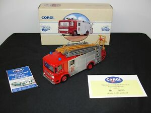 "Corgi #97357 ""Hertfordshire"" AEC Pumper Fire Truck 6 1/50 W Box #655 of 6100"