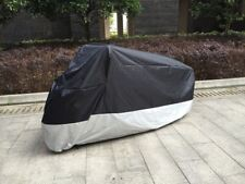XXL Motorcycle Cover For Harley Davidson Fat Boy Heavy Duty Motorbike Anti Rain