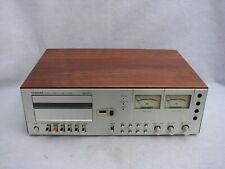 100% Working Toshiba Pc-5060 Cassette Deck, New Veneer, Belts, Idler!