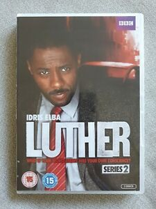 Luther : Series 2 (DVD, 2012, 2-Disc Set, Region 2 & 4)