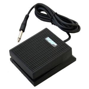 HQRP Sustain Pedal for Casio CTK-3400 CTK-6200 LK-50 LK-55 LK-73 LK-160 PS-3000