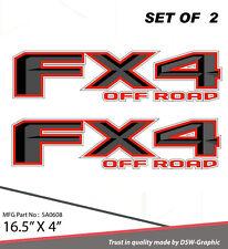 4X4 SPORT OFFROAD DECAL STICKER FOR FX4 F150 F250 F350 RANGER SA0608