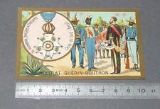 CHROMO GUERIN-BOUTRON 1905-1914 DECORATIONS BRESIL BRASIL CROIX DU SUD