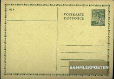 Bohemen en Moravië P1 Officiële Postcard ongebruikte 1939 Linden Branch