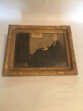 """James Whistler """"Whistler's Mother"""" 15"""" X 12"""" Framed Art Print. RARE? DATE? READ!"""