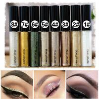 8 Waterproof Glitter Liquide Eyeliner Scintillant Eye Liner Longue Durée