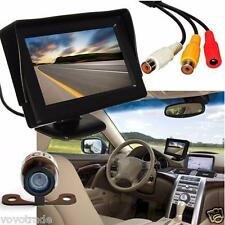 4.3'' TFT LCD Car Backup Rear View Monitor  Wireless Parking Night Vision Camera