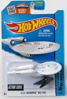 Hot Wheels ~ 2015 HW City / Space Team ~ USS Enterprise NCC-1701