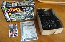 Rare 1994 GI Joe Hasbro Unused Sgt Savage Grizzly SS-1 in Box! 100% Complete