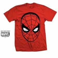 Magliette da uomo a manica corta rossi Marvel