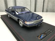 1/18 1993 Cadillac Fleetwood Brougham blue ORIGINAL Factory authorization