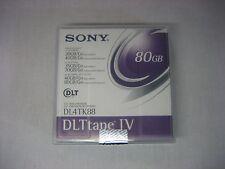 NEW Factory Sealed Sony DLTtape IV DL4TK88 Data Tape Cartridge DLT4000/7000/8000