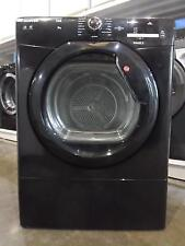 Hoover HLV9DGB Black Vented Tumble Dryer 9 Kg Sensor One-Touch NFC