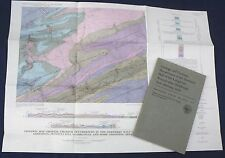 Usgs Uranium Minerals in Pennsylvania Vintage 1963 Report with All Maps!
