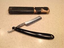 Vintage Straight Razor Men's Salem Markos Improved Eagle W/ Box  Celluloid