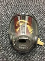 Scott AV-3000 Firefighter Facepiece SCBA CBRN NBC Size MEDIUM - Good