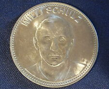 1970-SHELL--GERMANY--WILLI SCHULZ--SOCCER MEDAL MEXICO WORLD CUP --BETTER GRADE