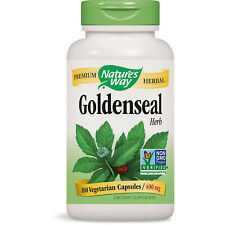 NATURES WAY - Goldenseal Herb 400 mg - 180 Capsules