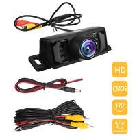Car Rear View Backup Camera Parking Reverse Back Up Camera Waterproof CMOS 7 LED