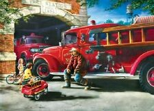 Jigsaw puzzle Truck Firehouse Dreams 1000 piece NEW