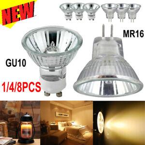 GU10/MR16 Halogen Bulbs Replace Light Reflector Spotlight Down Lamp 25/35/50W