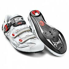 Sidi Genius 7 Carbon Road Cycling Bicycle Shoes White Size 45 EU / 10.5 US