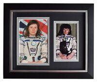 Helen Sharman SIGNED 10x8 FRAMED Photo Autograph Display MIR Space AFTAL COA