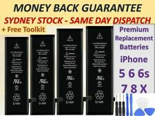 NEW High Capacity OEM Battery Replacement for iPhone SE 5 5C 5S 6 6S 7 Plus 8+