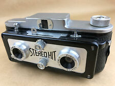 Stereo Hit 3D w/ 4.5cm S-Owla Lenses Vintage 127mm film Camera - Works Great