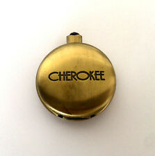Cherokee Quartz Fashion Modern Pocket Watch Japan Movt Works