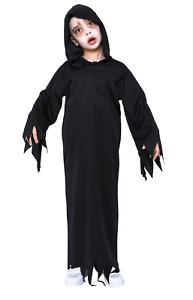 Grim Reaper Haunted Soul Taker Devil Boys Kids Halloween Fancy Costume Book Week
