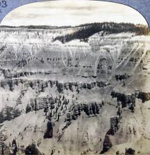 Keystone Stereoview Painted Chasm, Cedar Breaks, UT 20's Scenic America  #203 LC