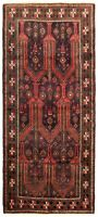 """Hand-knotted Carpet 3'7"""" x 8'6"""" Traditional Vintage Wool Rug...DISCOUNTED!"""