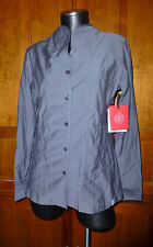 $168 New O'shaughnessy Sara Griot Fine Equestrian Cotton Blouse Top Shirt size 6