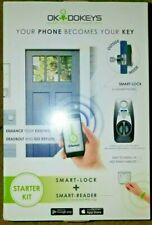 OKIDOKEYS Smart Lock System Smart Reader Classic Access-Pack Bluetooth RFID