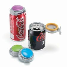 Jokari Can Soda Fresh Pump & Seal Fizz Keeper - 4pk