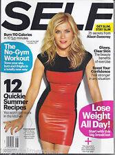 Self magazine Alison Sweeney No gym workout Summer recipes Diet tips