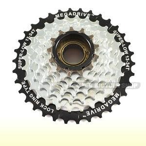 SunRace MFM2A Mountain Bike 6 Speed Compatible with Shimano Bicycle Freewheel 14-28 Teeth