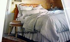 2 Simply Shabby Chic Grey white Scroll standard Rachel ashwell pillow sham queen