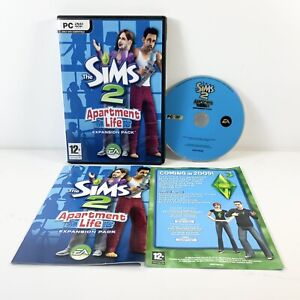 The Sims 2 Apartment Life Expansion Pack (PC Game ) Pc- Dvd With Manual