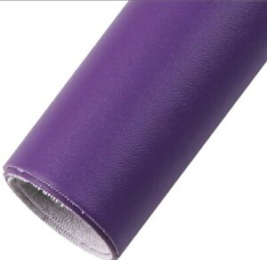 """Purple Solid FAUX LEATHER SHEET 9"""" x 12""""  WHOLESALE 1127434 Buttery Soft"""