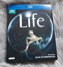 Blu-Ray - BBC EARTH - Life - David Attenborough - VGC - R2