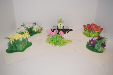 3D Pop Up Greeting Cards One Assortment Of Six Cards