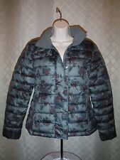 GAP Puffer Jackets size SM,XS,Olive Green Floral print,Black,Rich Wine Full Zip