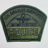 Airports Police California CA Subdued OD Green Patch (B4)