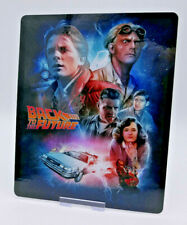 BACK TO THE FUTURE - Glossy Bluray Steelbook Magnet Cover (NOT LENTICULAR)